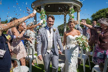 Tregenna Pavillion Summer Wedding in St Ives